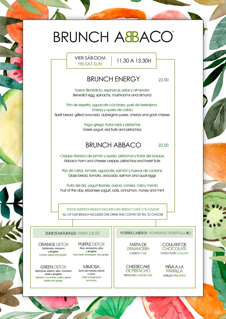 Abbaco brunch-Mallorca